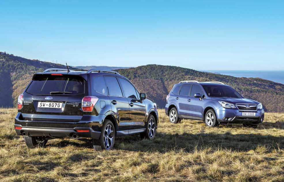 Тест-драйв Subaru Forester: За городской чертой - Автоцентр.ua
