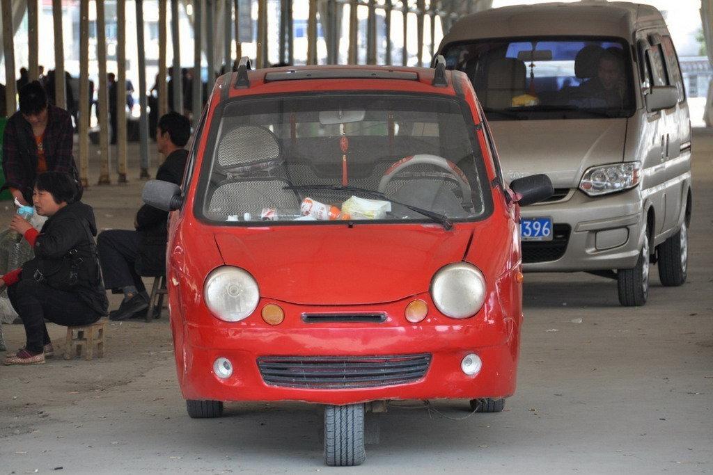 не капризные китайские машины видео