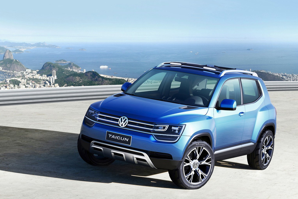 Volkswagen T-Track: каким будет самый маленький кроссовер Фольксваген