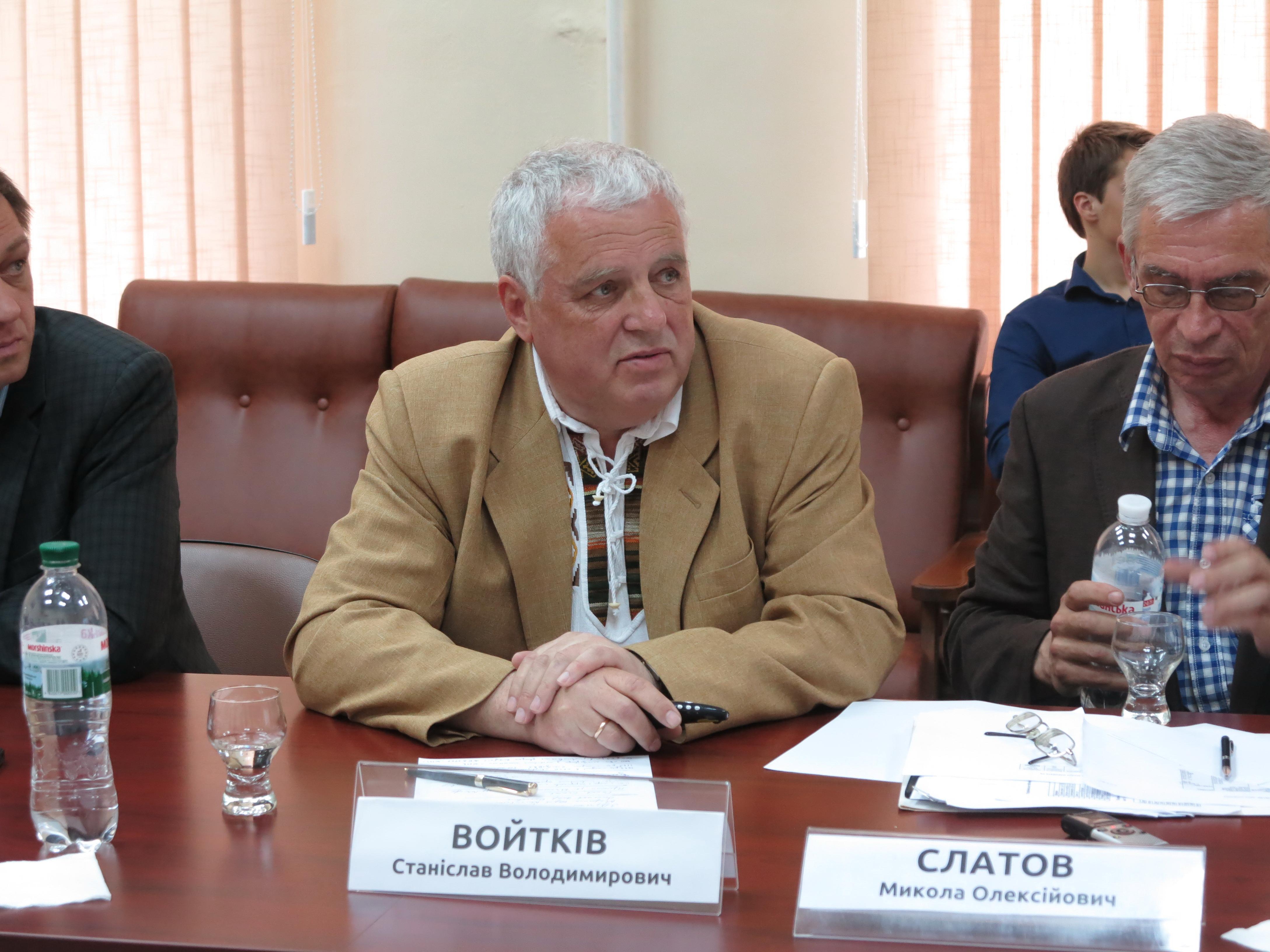 Главный конструктор НТЦ «Автополипром» Станислав Войткив