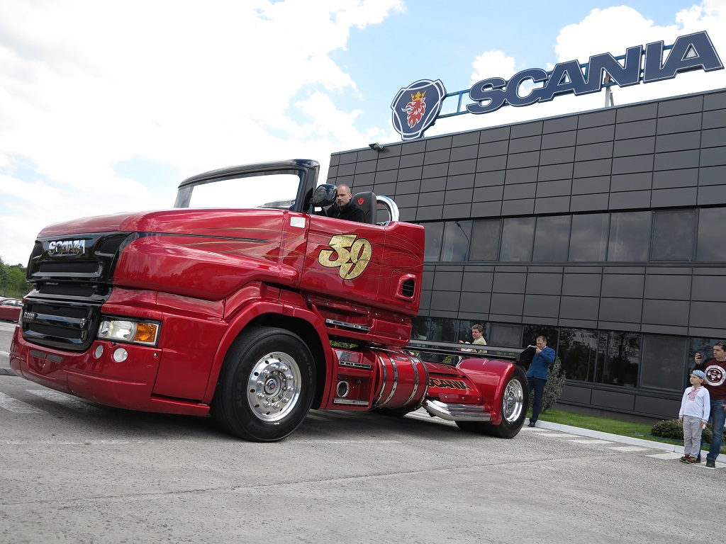 Обои Scania, r999. Автомобили foto 16