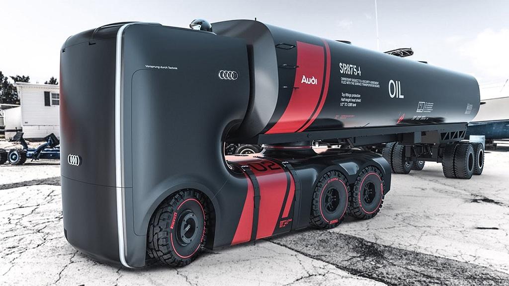 Future Audi Truck Concept (Вариант В)