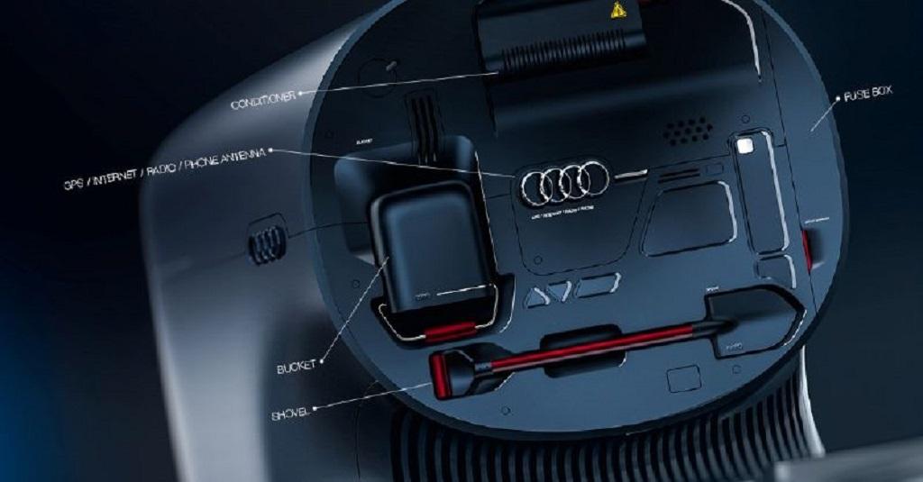 Future Audi Truck Concept (Вариант)
