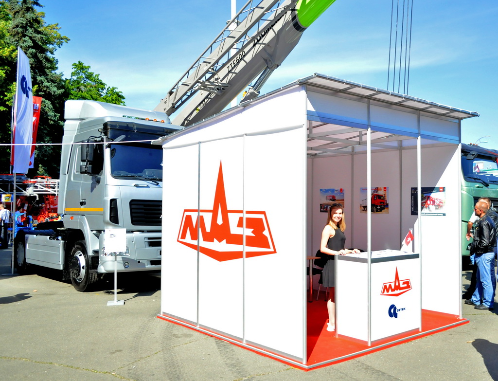 МАЗ представил новинки строительной техники