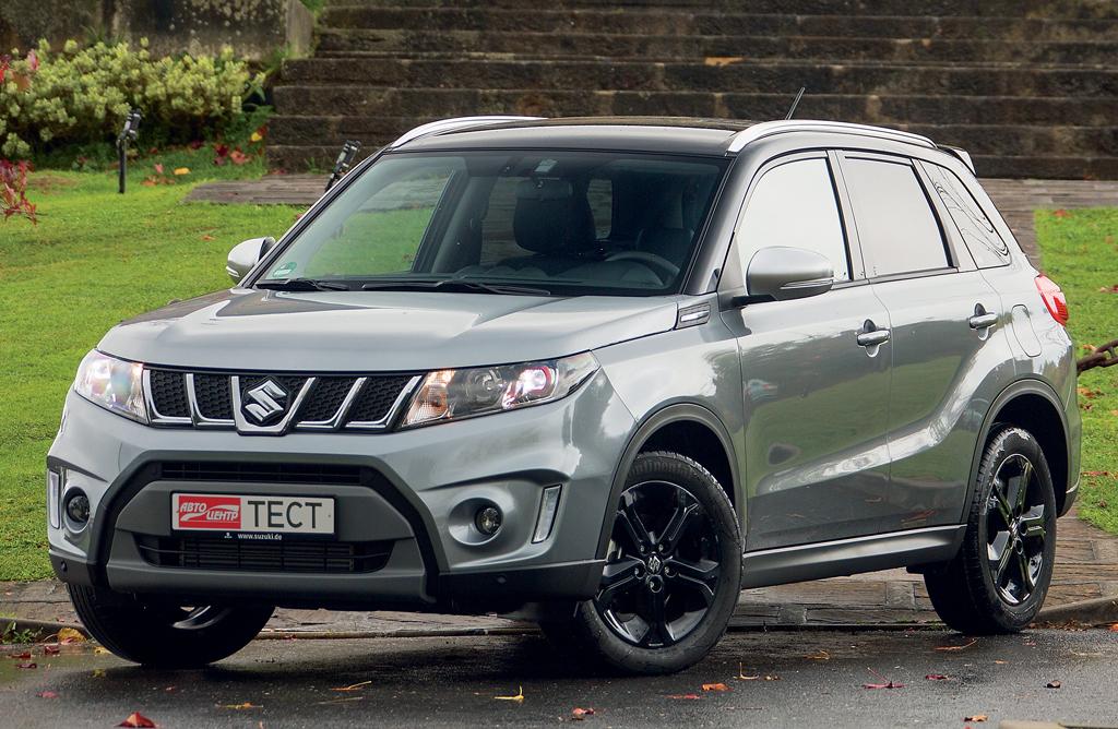 тест-драйв Suzuki Vitara S