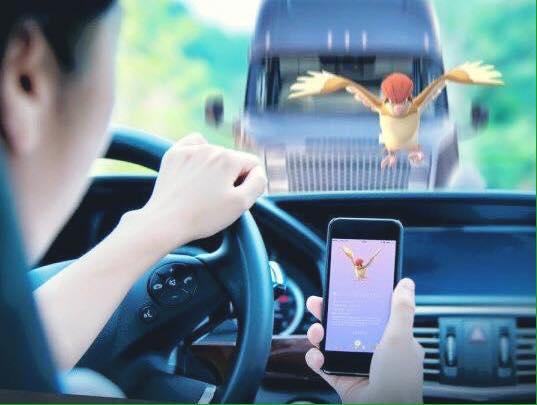 В Украине оштрафовали первого водителя за игру в Pokemon Go