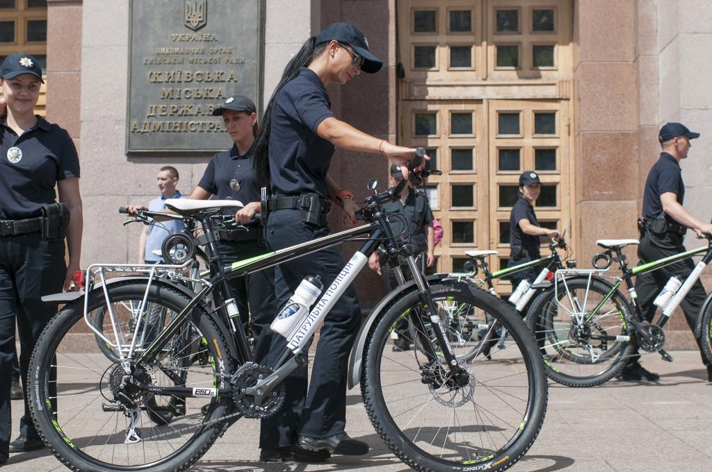 Велосипеды для полицейских Киева