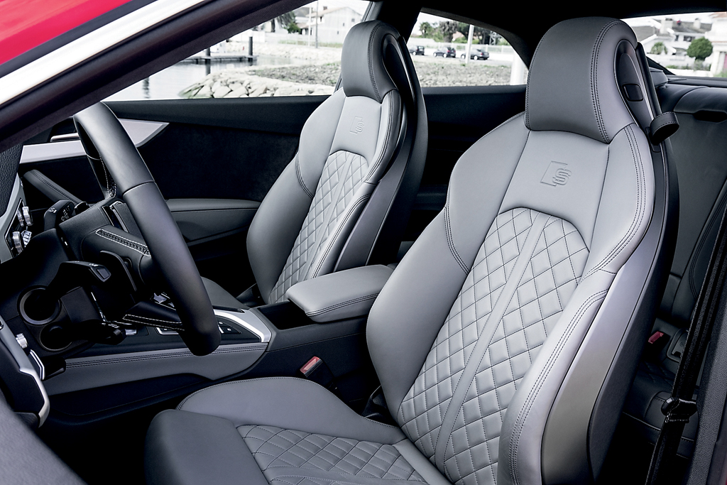 Тест-драйв нового Audi A5/S5 Coupe