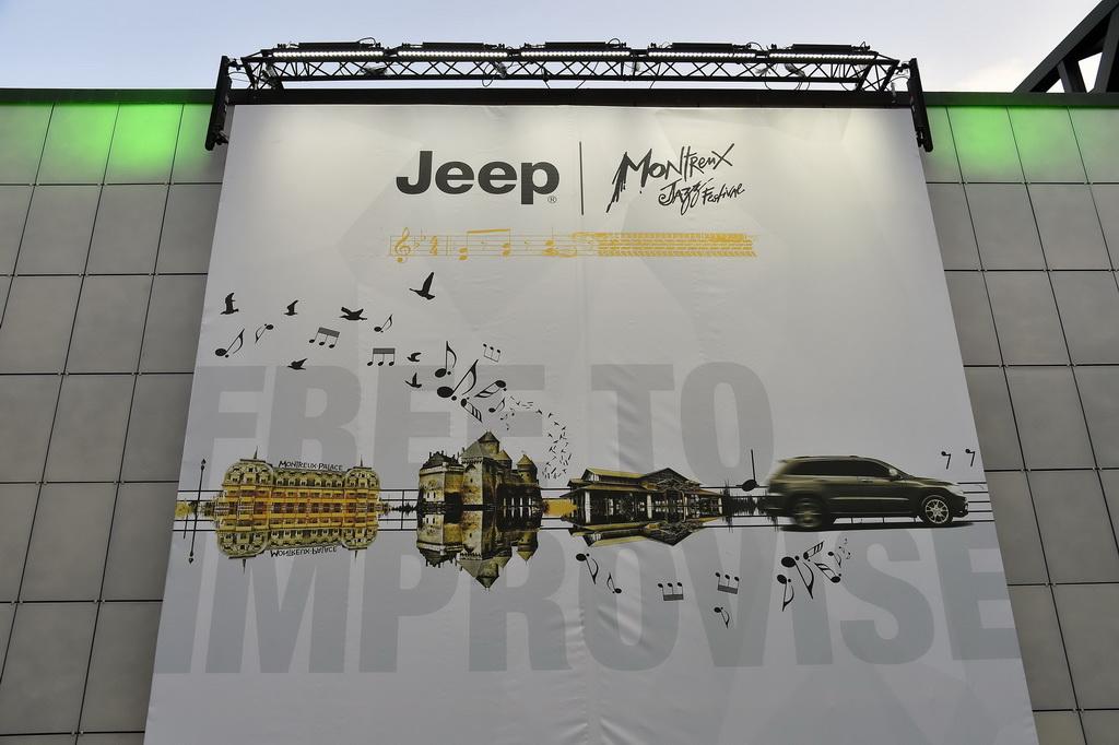 Jeep & Montreaux Jazz Festival