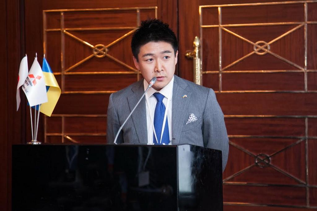 Генеральный директор компании «ЭМ ЭМ СИ Украина» - пан Хироаки Озава