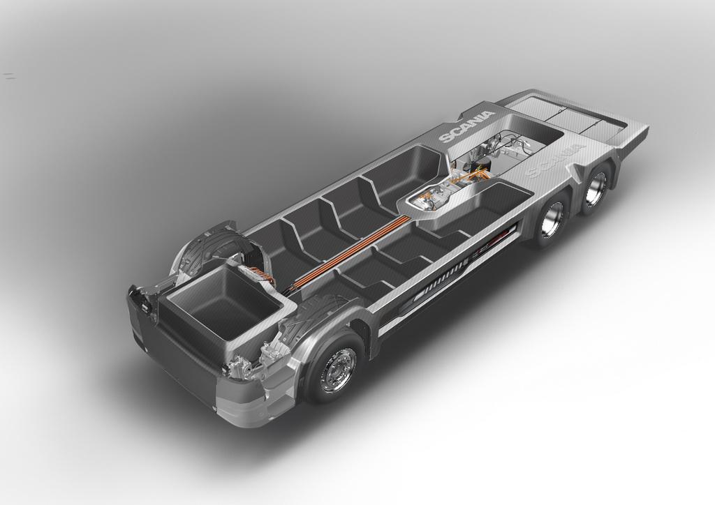 Вантажівки та автобуси отримають надлегкі композитні шасі