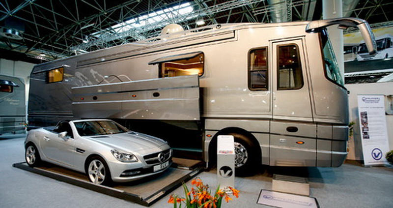 Caravan salon 2016 for Camping car de luxe avec piscine
