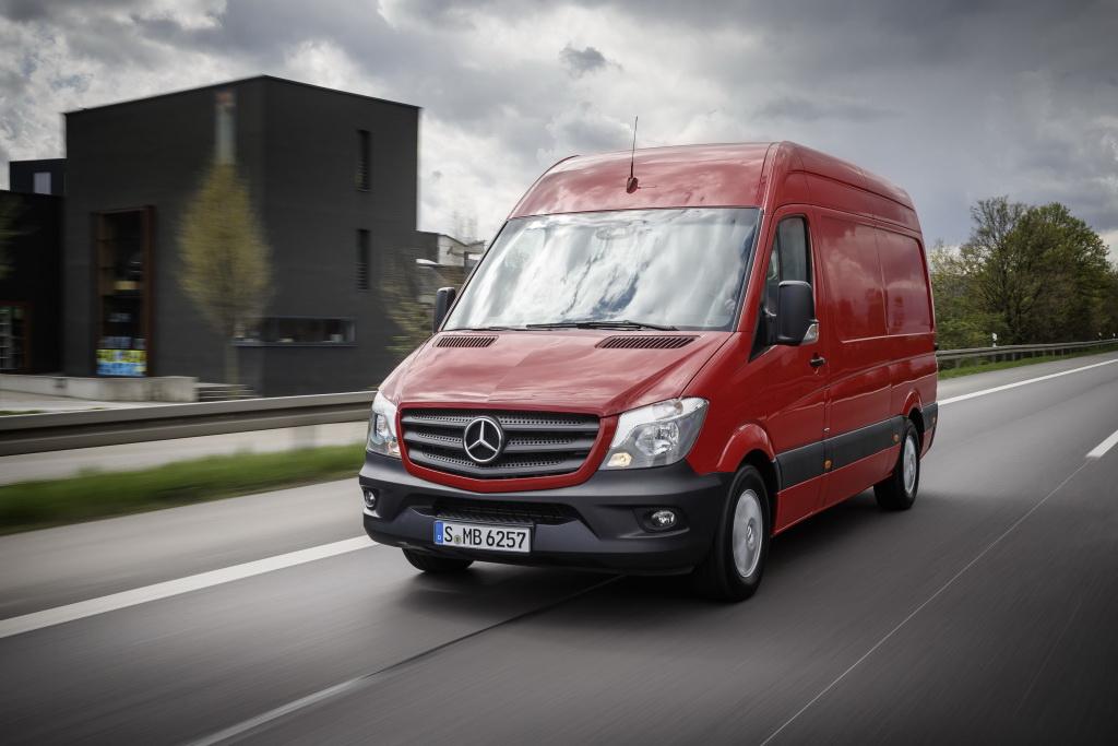 Фургон Mercedes-Benz Sprinter