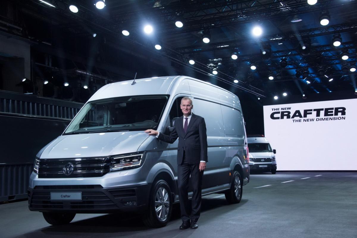 Доктор Экхард Шольц, председатель Volkswagen Commercial Vehicles