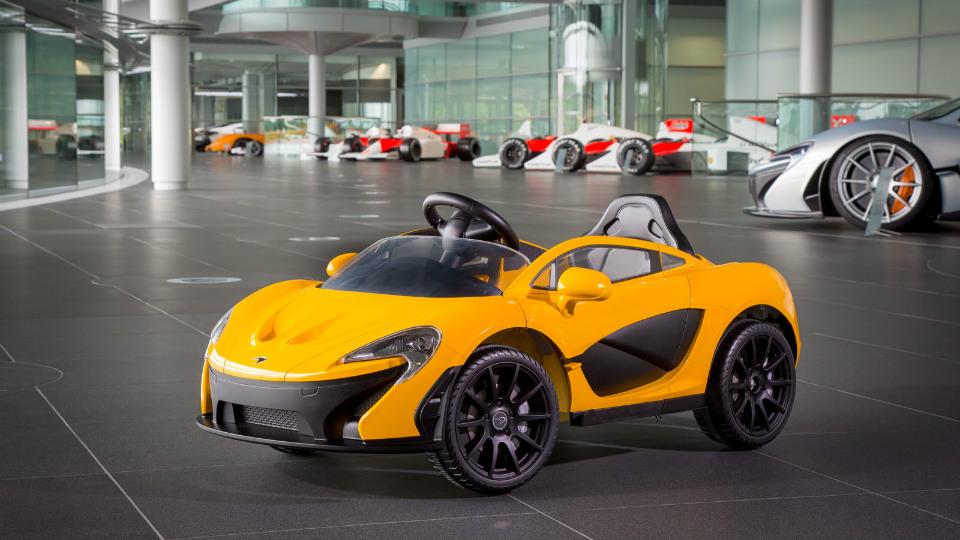 McLaren выпустила суперкар для детей