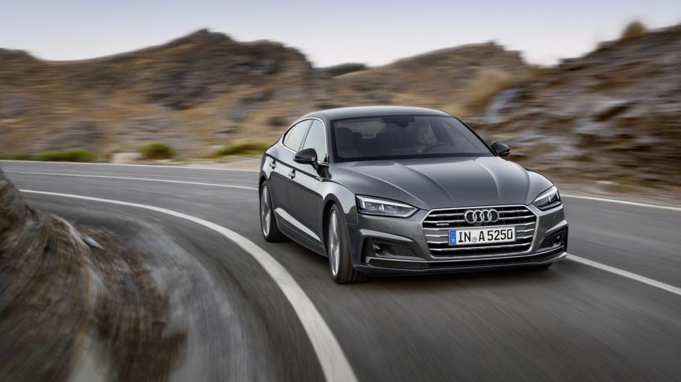 Audi A5 Sportback – модель 2017 года рассекретили до премьеры