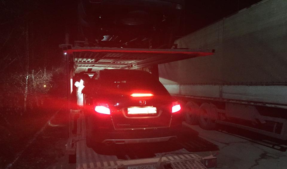 ГАЗ М-20 Победа из Honda Crosstour