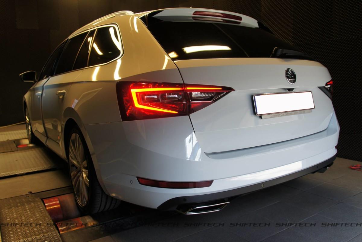Универсал Skoda Superb 2.0 TSI сделали быстрым, как Audi S4
