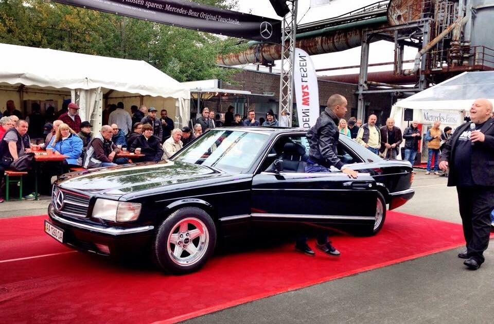 Mercedes 500 - победитель немецкого конкурса из Украины