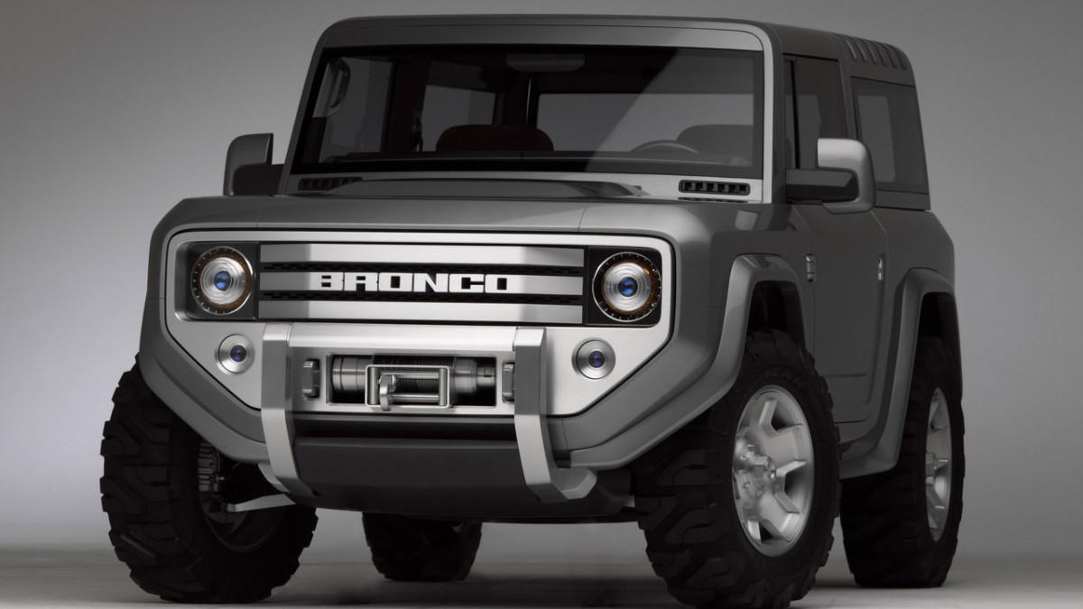 Ford Bronco 2018. Американцы возрождают брутальный внедорожник