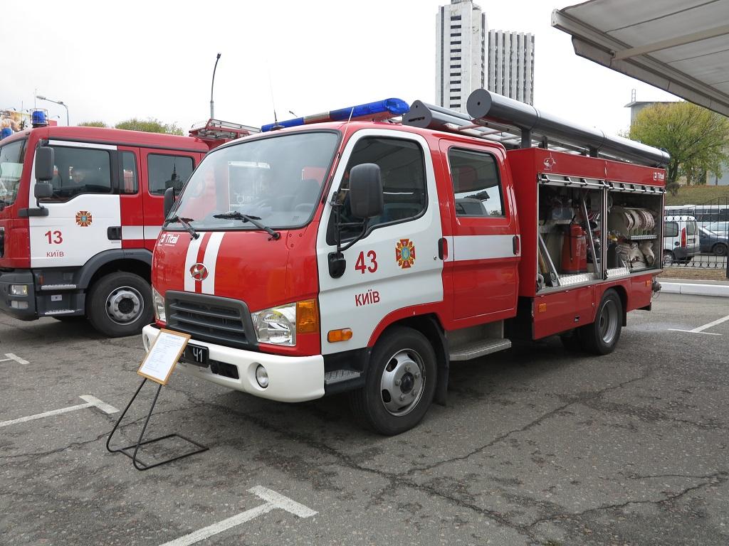 АЦ-2 (30) на шасси грузовика Hyundai HD-65