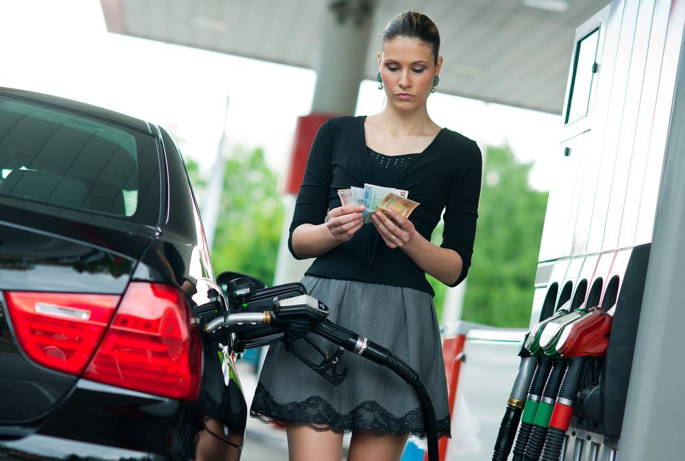 Какой процент доходов украинцы тратят на бензин