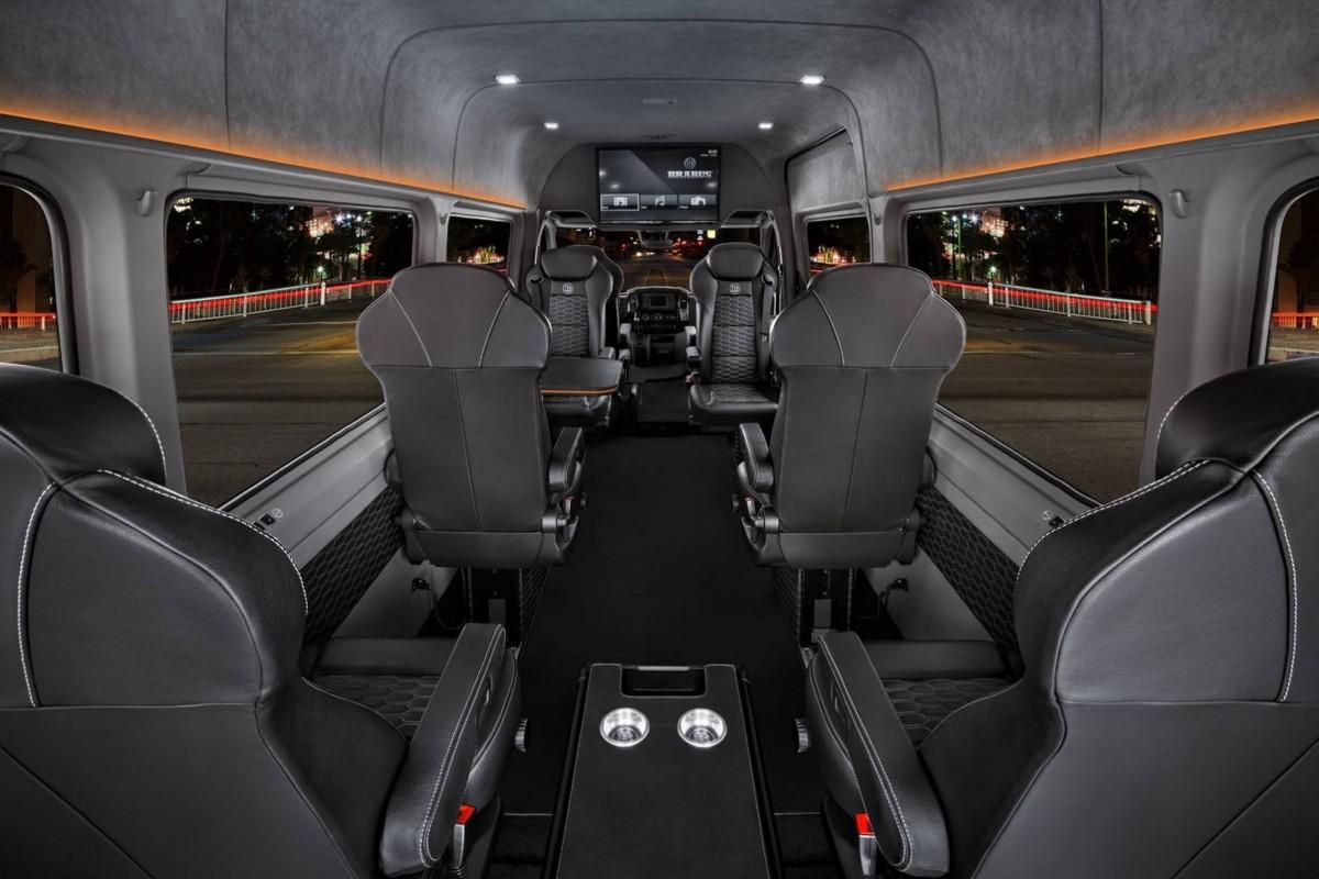 Brabus Sprinter Conference Lounge – маршрутка для переговоров по цене Майбаха