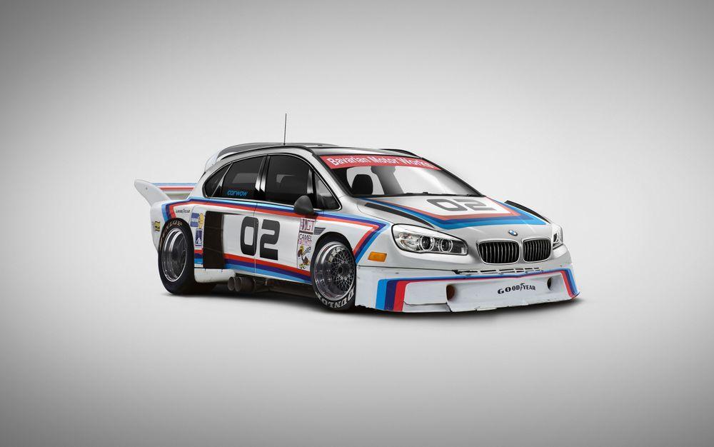 Легендарное купе BMW 3.0 CSL + микровэн BMW 2 Active Tourer