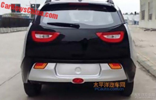 Китайский клон BMW i3 оценили втрое дешевле оригинала