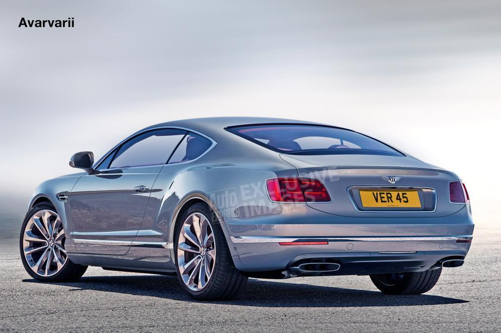 Новый Bentley Continental GT построят на базе Porsche Panamera