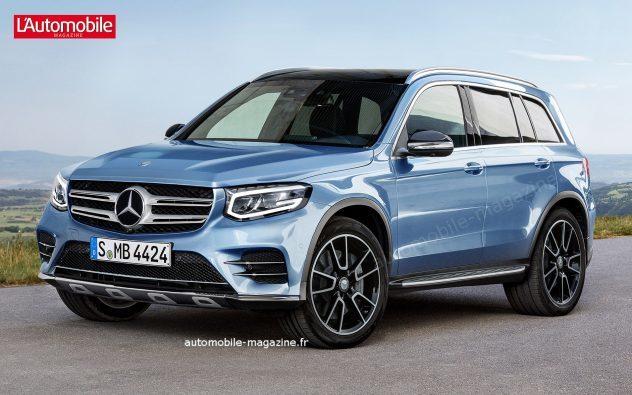 У Mercedes-Benz появится новый кроссовер GLB