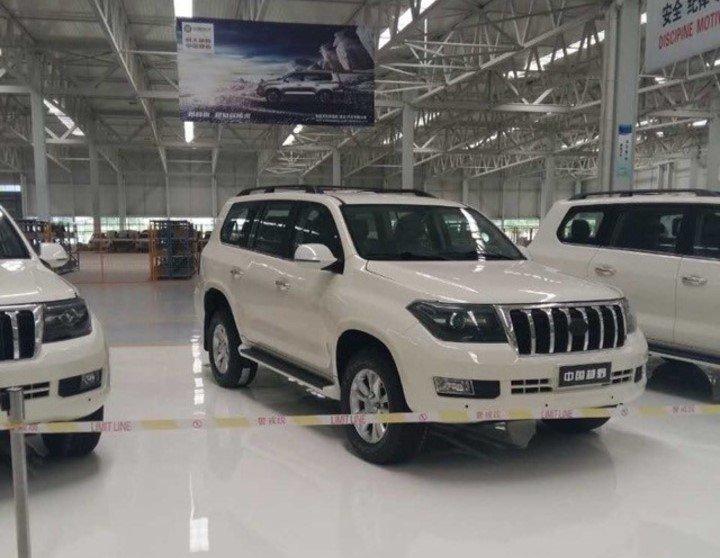 Китайцы выпустили клон Toyota Land Cruiser 200