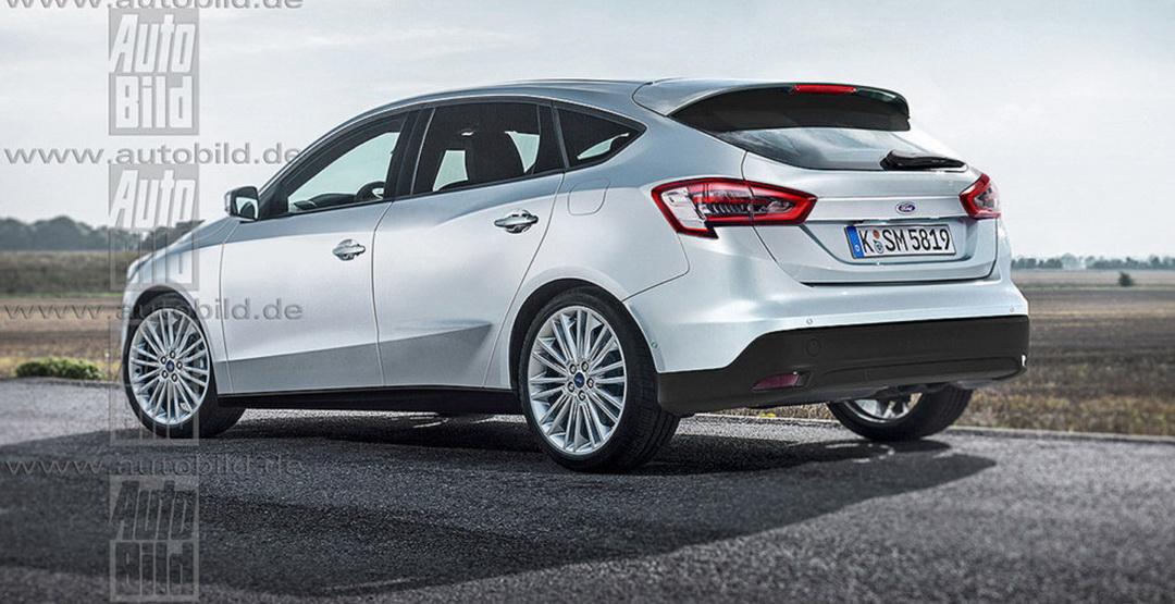 Предполагаемый внешний вид Ford Focus 2017