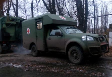 Санитарный автомобиль Богдан 2251