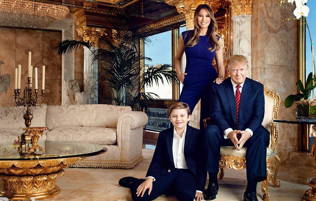 Для Трампа разработали лимузин в золоте и самолет с оранжереей