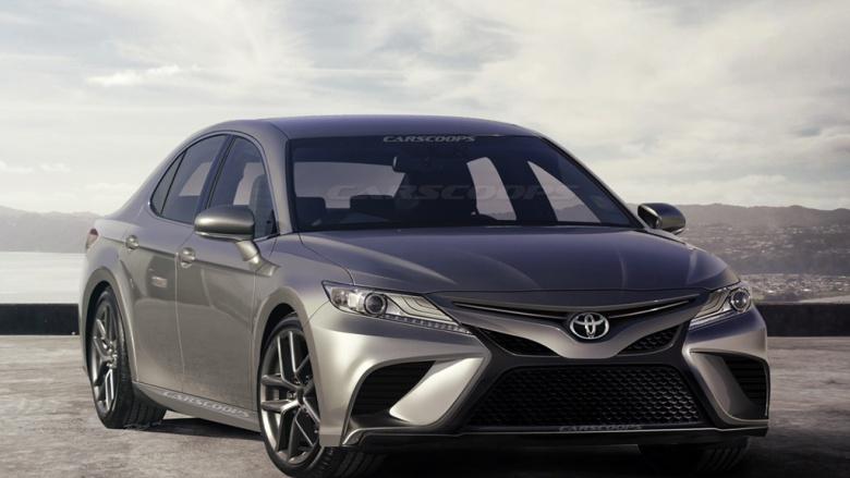 Toyota Camry 2018 – первые официальные фото
