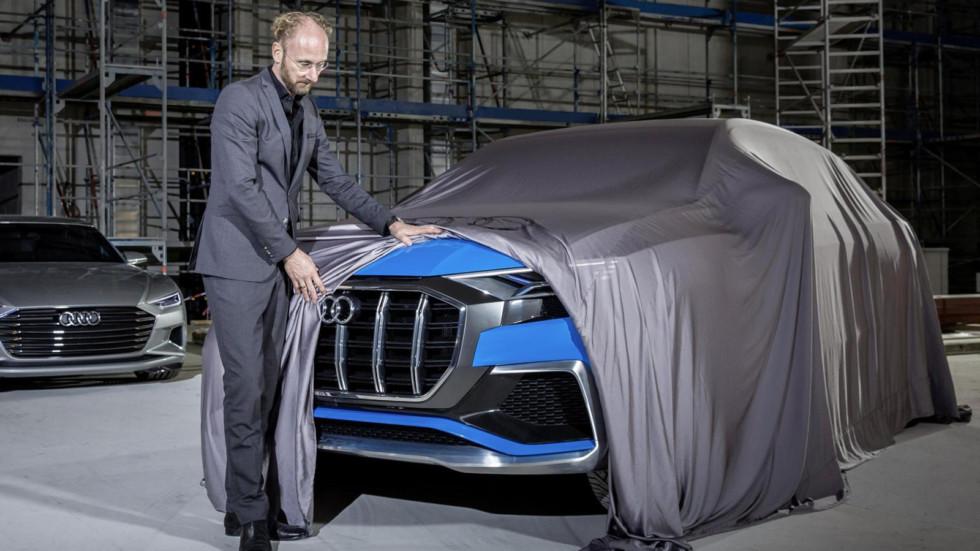 Новый Audi Q8 – подробности первого электрического кроссовера Ауди