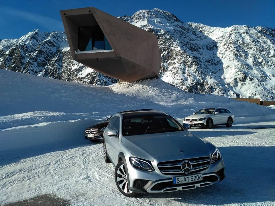 На тесте «Автоцентра» - универсал Mercedes-Benz E-Class All-Terrain