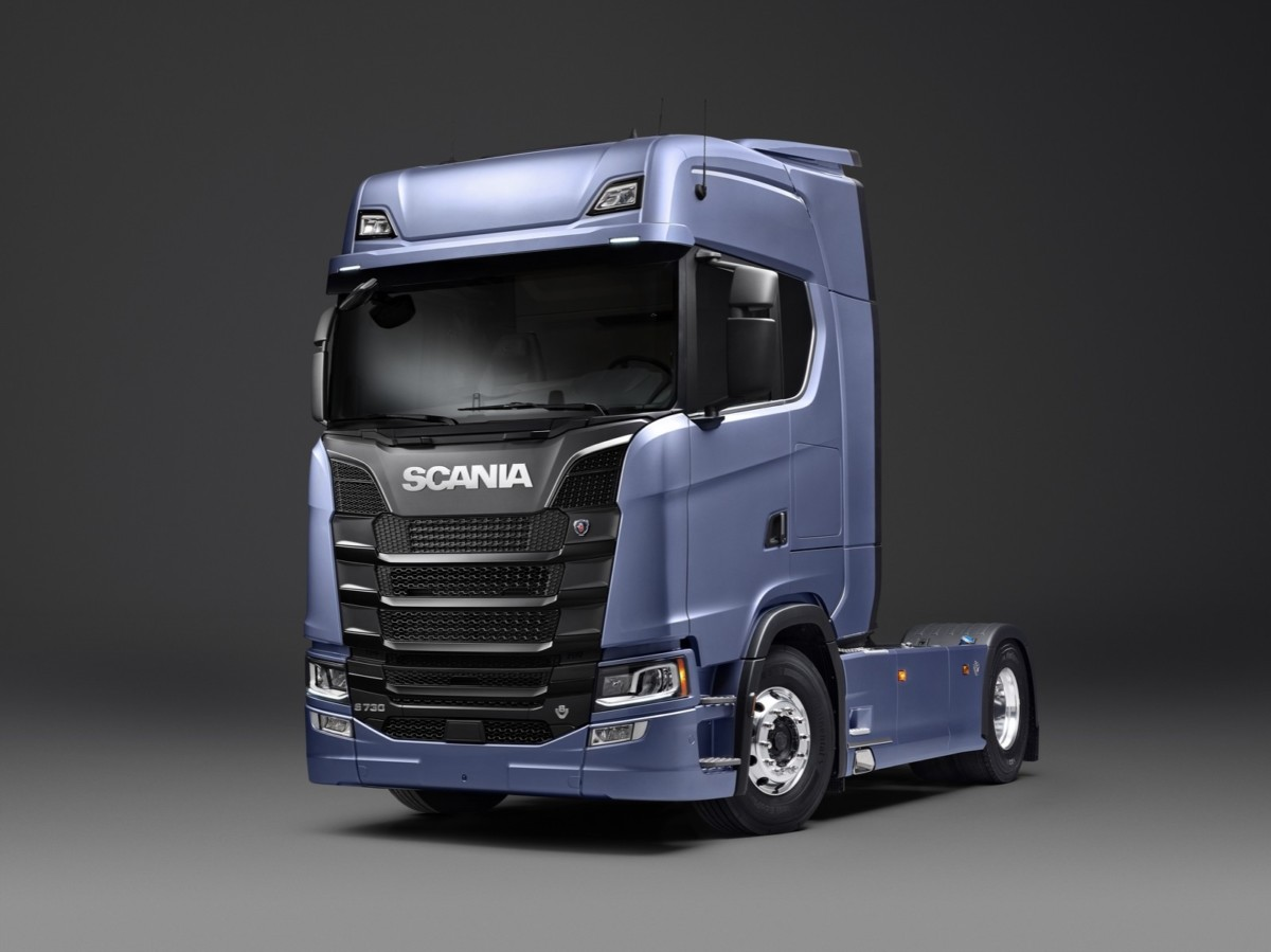 тягач Scania S-серии