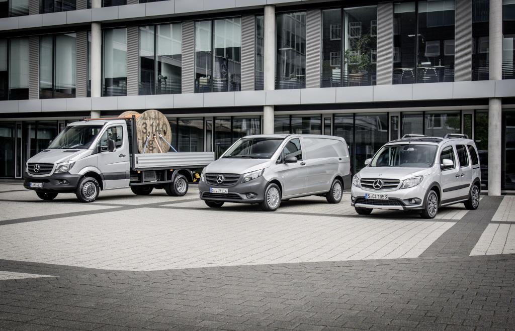 Модельный ряд Mercedes-Benz Vans