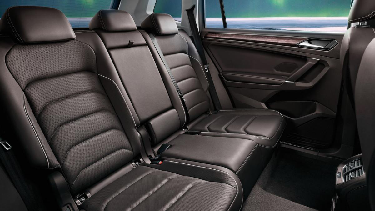 Семиместный кроссовер Volkswagen Tiguan Allspace полностью рассекречен