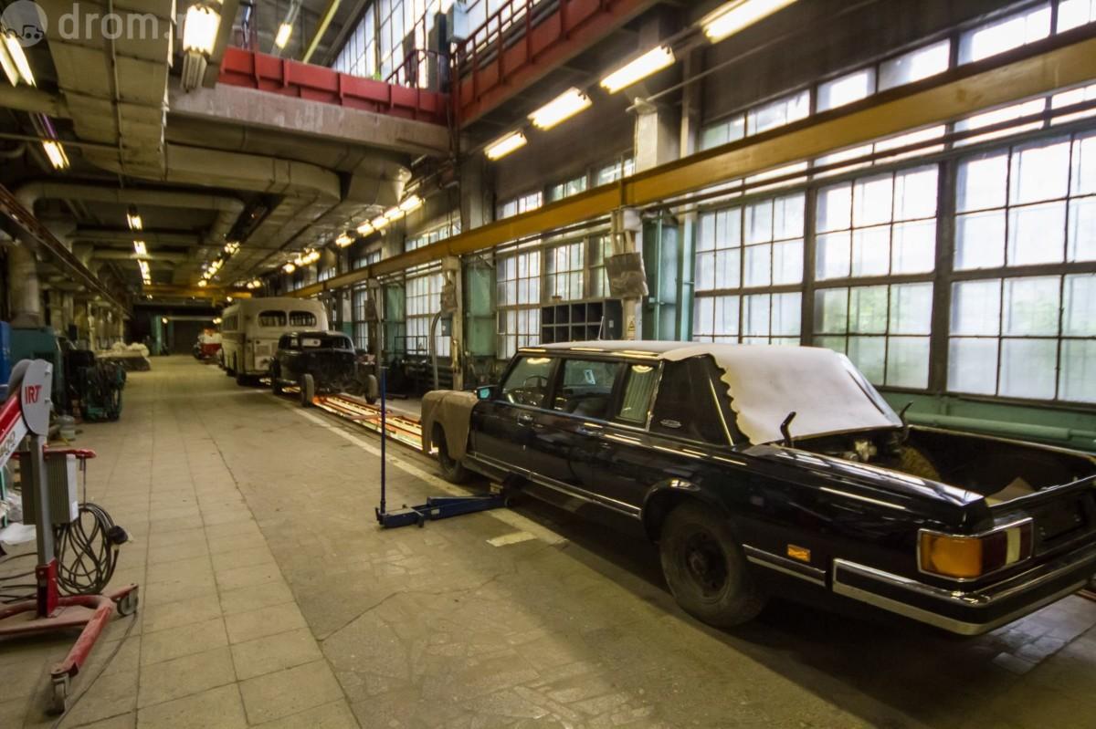 От завода остался лишь цех легковых автомобилей