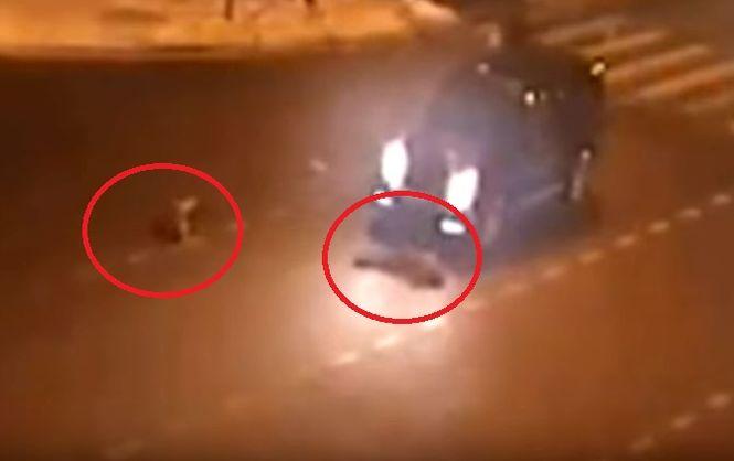 Беглый украинский чиновник сбил двух детей в Москве (видео)