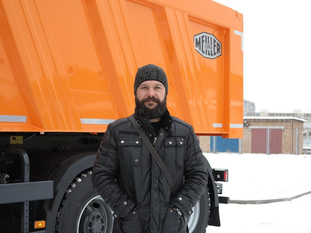 Руслан Атаманив Представитель компании F.X. Meiller в Украине