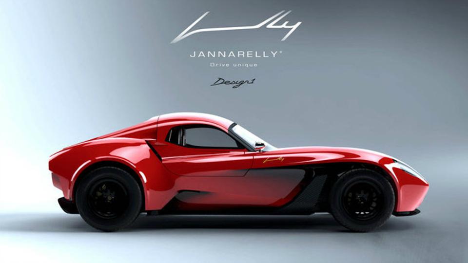 Jannarelly Design 1 – арабское спорткупе в стиле Ferrari Testarossa