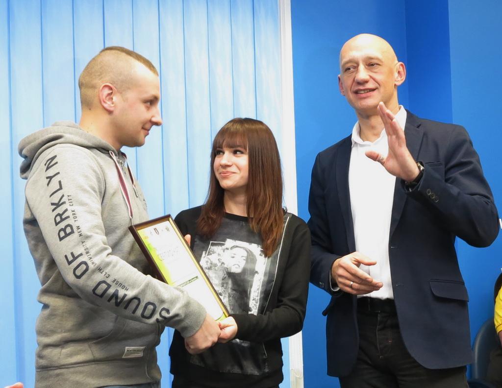 Александр: Предложение девушке Алене в эфире Приз: тур выходного дня на Тернопольщине