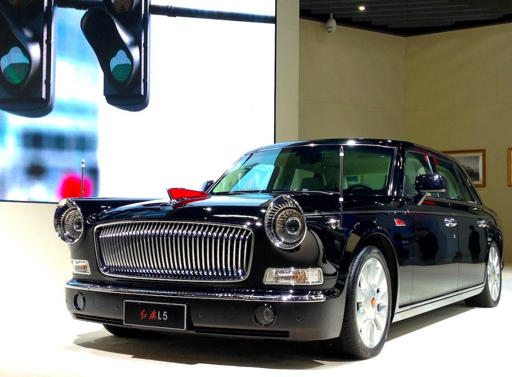 Китайский автомобиль за полмиллиона долларов поступит в продажу