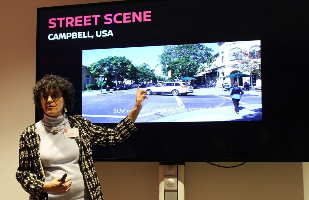 Мелиса Сефкин (Melissa Cefkin) занимается изучением поведения водителей и пешеходов в разных странах мира.