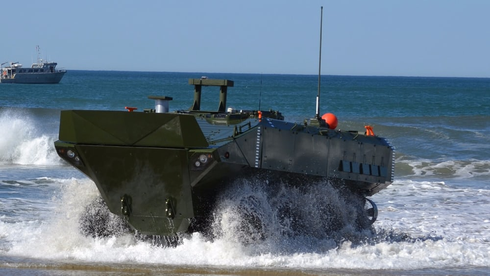 Плавающий БТР Amphibious Combat Vehicle (ACV) 1.1
