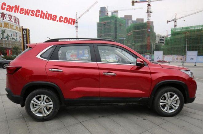 Китайцы выпустили кроссовер с передком в стиле Lexus